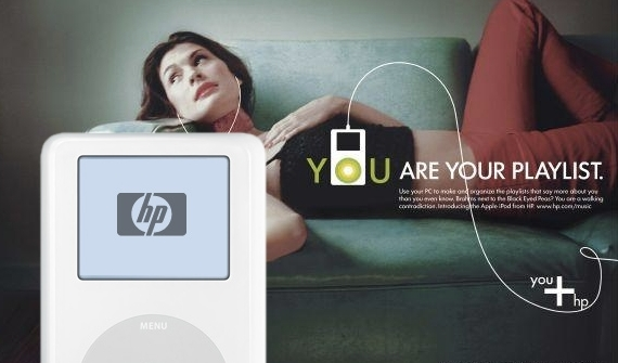 iPod + HP promotional material